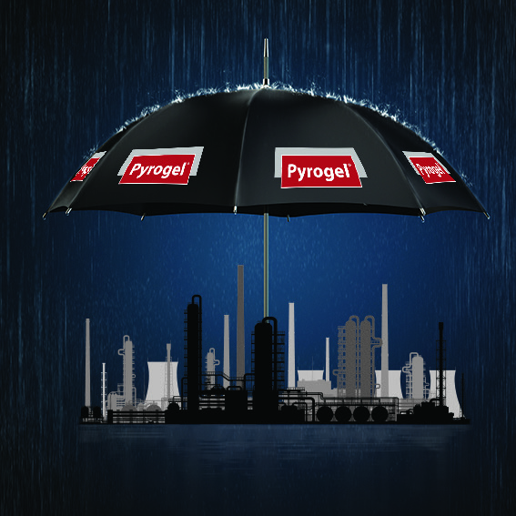 protect assets from corrosion under insulation with Pyrogel aerogel insulation