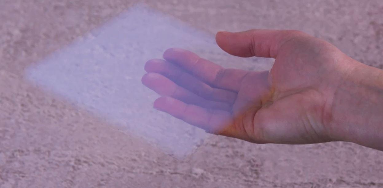 synthetic amorphous silica aerogel monolith